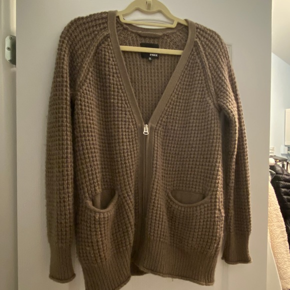 Wool Oversized Wilfred Free Cardigan